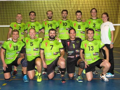 senior masculino Voleibol Rivas