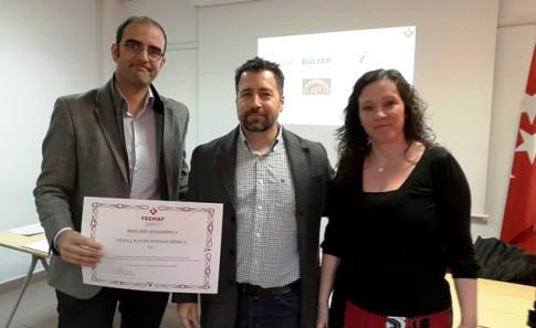 Entrega Premios FREMAP+ alcalde de Rivas