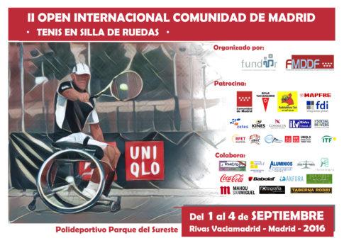 Rivas acogerá, a partir del 1 de septiembre, el II Open Internacional Comunidad de Madrid