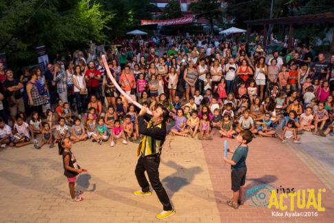 Fiestas solidarias del barrio Pablo Iglesias