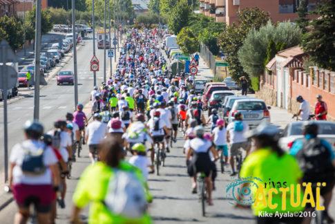 2.500 personas participaron en el XX Día de la Bici