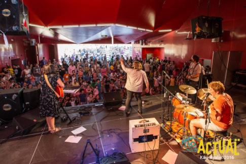 Concierto Petit Pop, en el Festival de Cultura en la Calle (Foto: Kike Ayala)