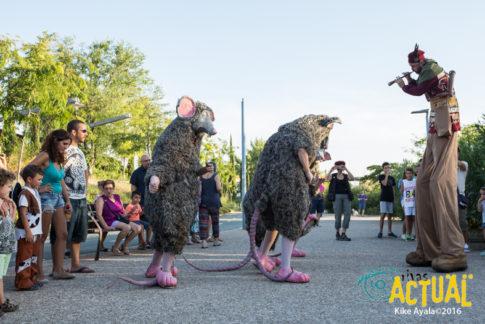 Pasacalles 'Rats', incluido en el Festival de Cultura en la Calle (Foto: Kike Ayala)