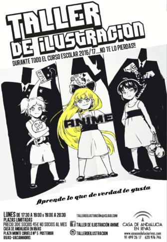 La Casa de Andalucía ofrece un taller de ilustración