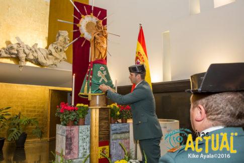 La Guardia Civil festejó ayer en Rivas el día de su patrona
