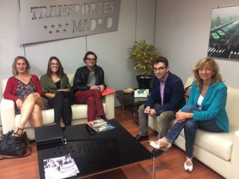 Reunión del PSOE y el Consorcio (Foto: PSOE Rivas)
