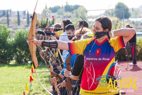 Rivas acogió el IV torneo de tiro con arco La Espiral (Foto: Kike Ayala)