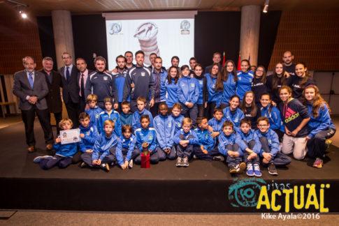 El club La Meca de Rivas recibió el galardón de la entidad más deportiva de Rivas