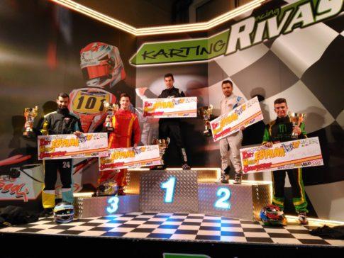 120 pilotos de karting compitieron en Rivas (Fotos de la organización)