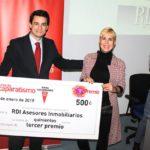 Tercer Premio, RDI Asesores Inmobiliarios ok