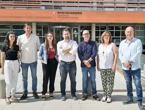 Equipo de Gobierno Municipal en Rivas Vaciamadrid.