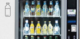 En la imagen, unas de las máquinas de la empresa de máquinas expendedoras C&B Señor instaladas en Rivamadrid.