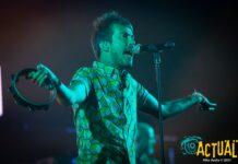 En la imagen, Juan Pedro Martín 'Pucho', vocalista de Vetusta Morla. Foto: Kike Ayala (Rivas Actual).