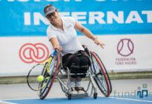 En la imagen, Lola Ochoa, vigente campeona del Open. Fotografía de Fundación ONCE