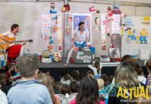 En ia imagen, un momento de una actuación infantil en la Feria del Libre de 2019. Foto: Kike Ayala (Rivas Actual).